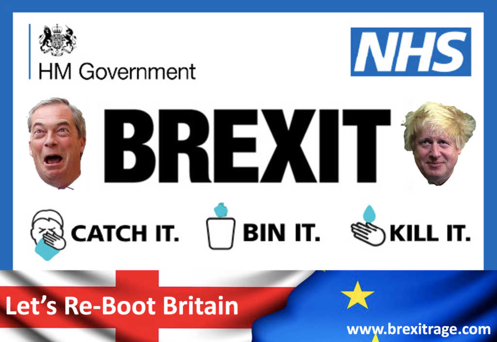 Re-Boot Britain - Suspend Brexit - Save the NHS