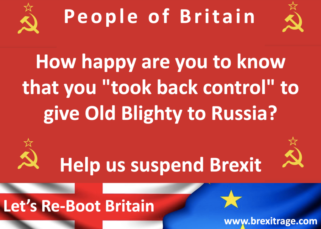 Re-Boot Britain - Suspend Brexit