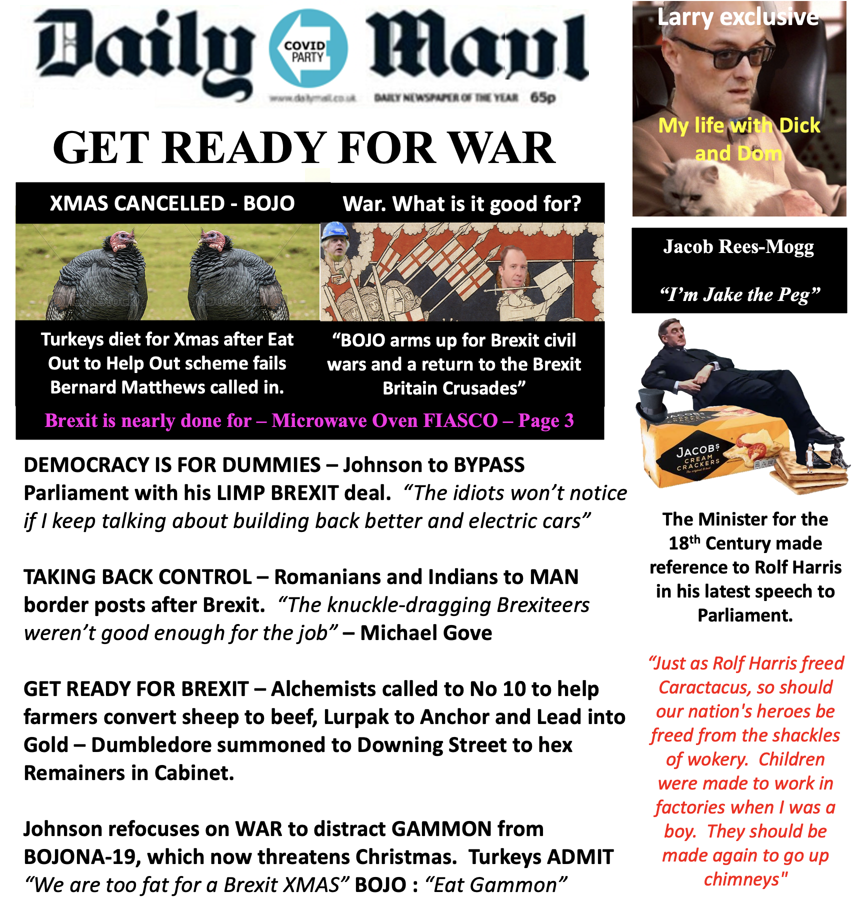 Get Ready for a Brexit Civil War