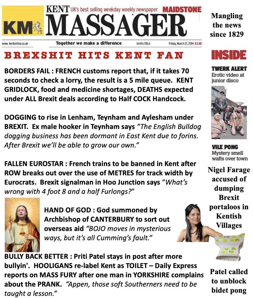 Brexit Hits The Fan