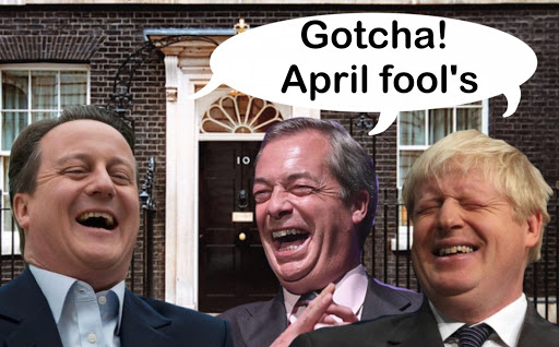 Brexit Fools' Day